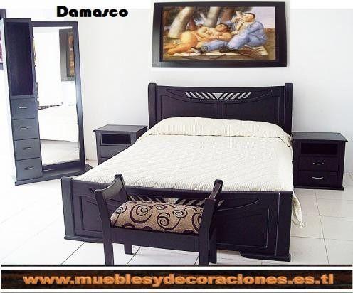 Juegos de alcoba dormitorios camas nocheros mesas de for Decoracion de alcobas