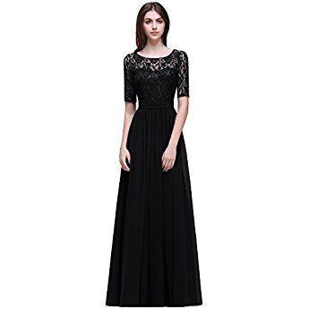 Elegant A-Linie Soitzen Abendkleid Brautjungfernkleid ...