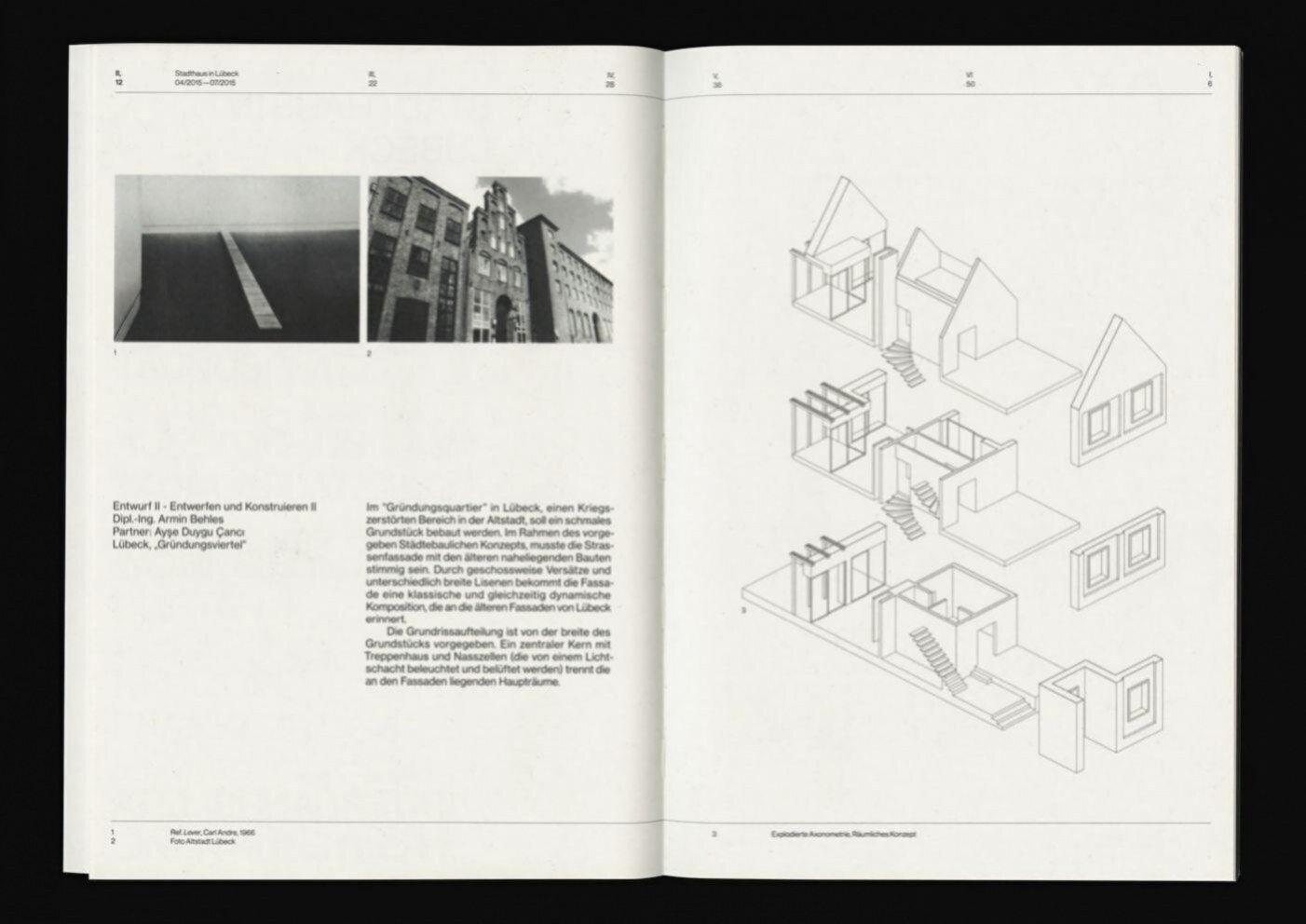 Portfolio d\'architecture sur behance   Architektur portfolio ...