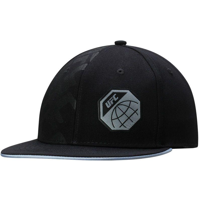 Ufc Reebok Logo Authentic Fighter S Fvf Flex Hat Black Reebok Ufc Hats