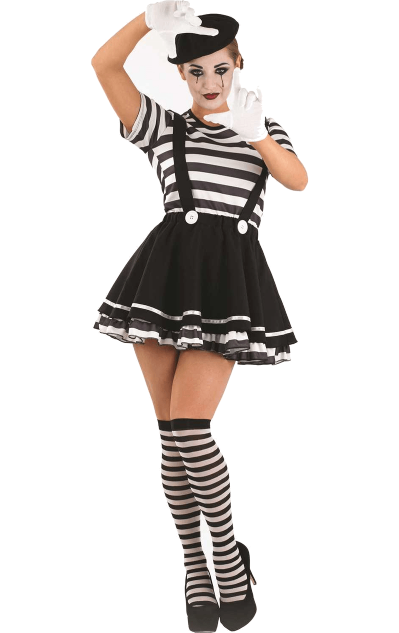 Mime Artiste Costume Carnival outfits, Costumes for