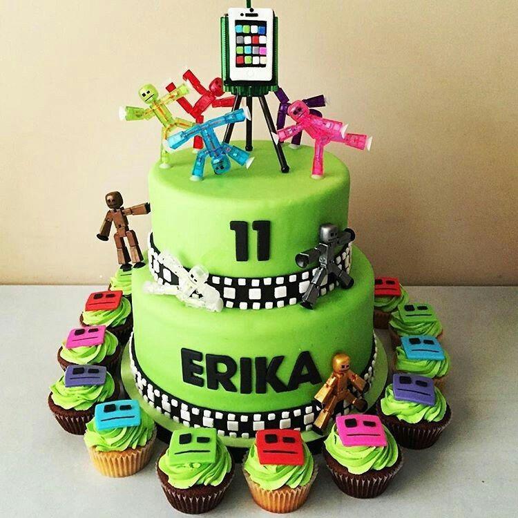 Stikbot Cake Tristan B Day Roblox Birthday Cake