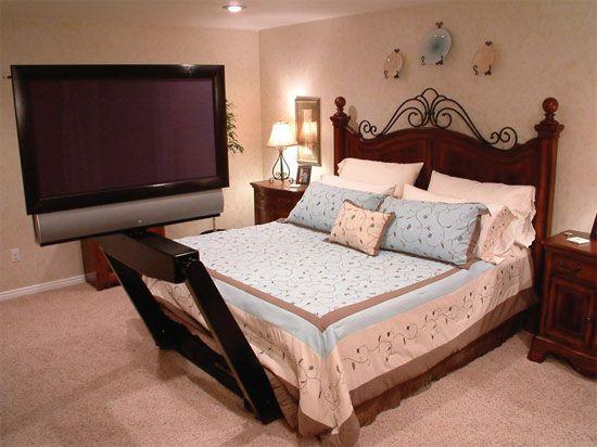 Bed Tv Mount Monster Under The Bed Jpg Just Luxury Stuff
