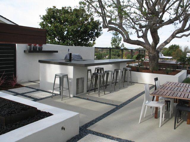 Grounded Modern Landscape Architecture Modern Landscape San Diego Grounde Modern Outdoor Kitchen Outdoor Kitchen Design Outdoor Kitchen Design Layout