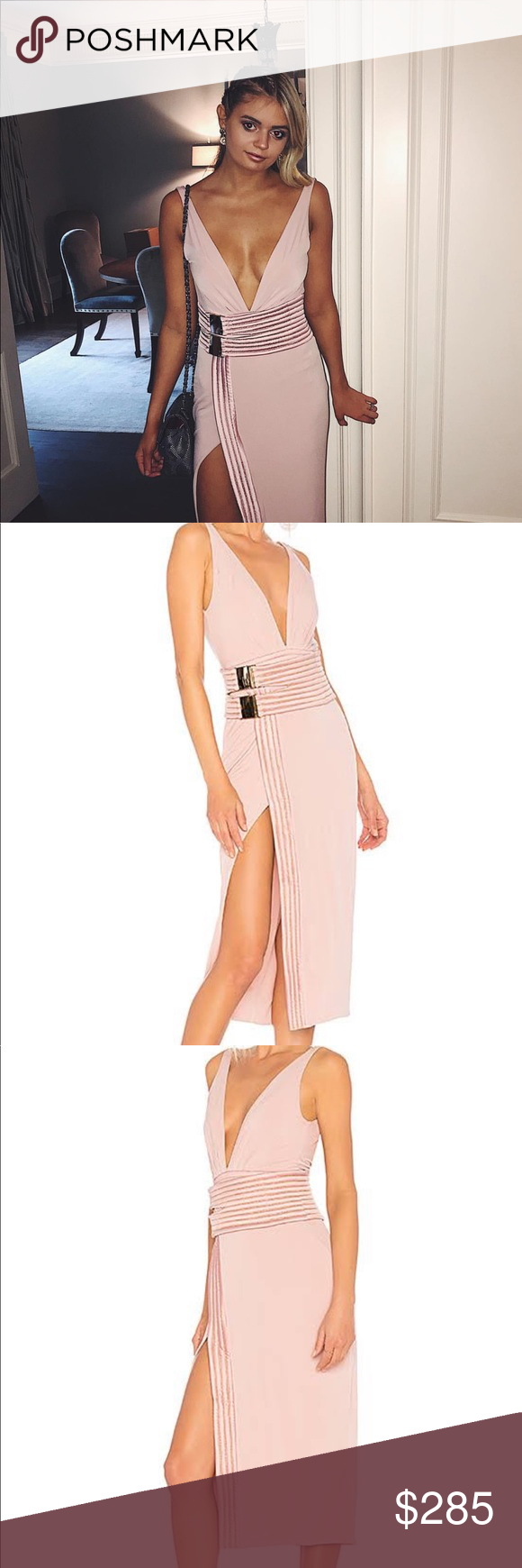 fe6a21827e38 ZHIVAGO LE LOFT DRESS IN BLUSH Worn once — perfect condition Purchased on  revolve a little over 6 months ago Fits true to size Zhivago Dresses Midi