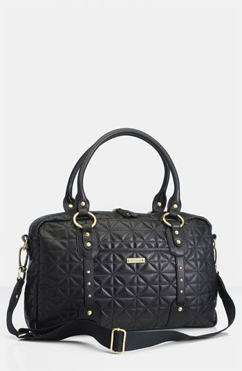 da9671ac9ad04 Storksak 'Elizabeth' Quilted Leather Diaper Bag available at #Nordstrom