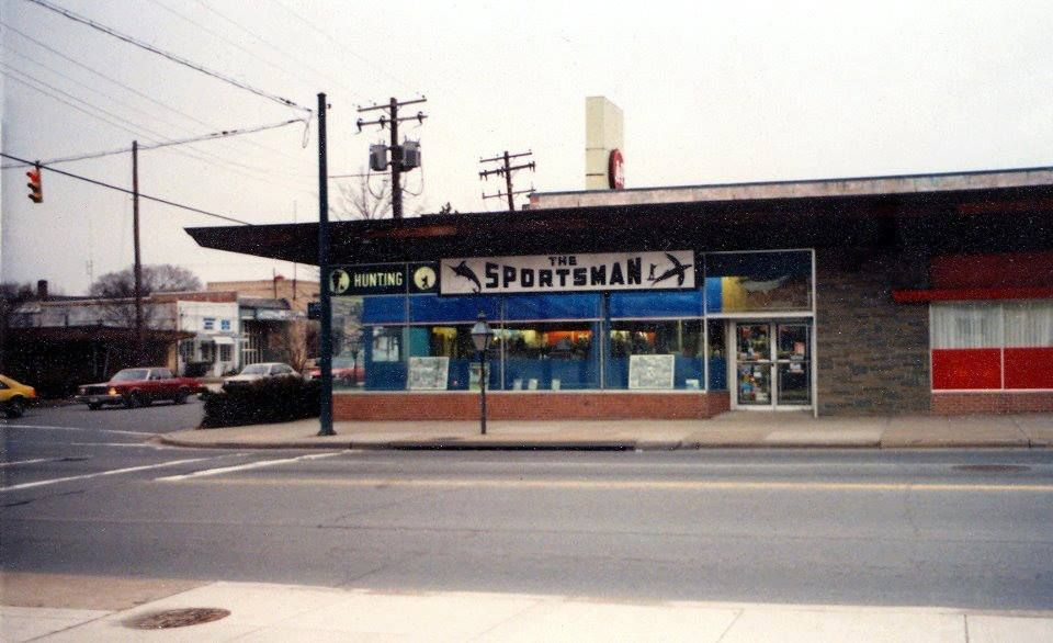 The Sportsman sporting goods store. They gave a 10
