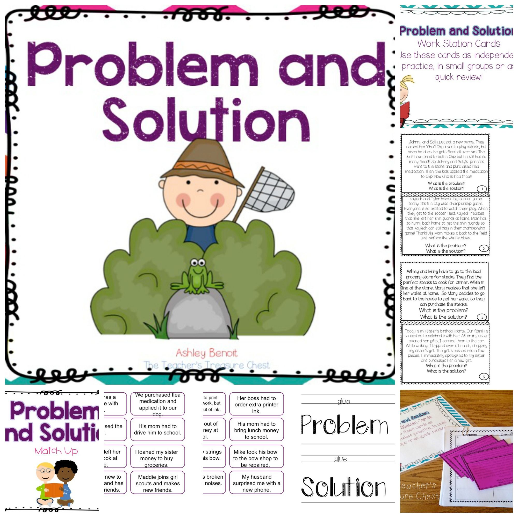 This Problem And Solution Literacy Packet Contains