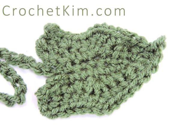 Crochetkim free crochet pattern pumpkin leaf crochetkim 20 free crochet leaf patterns for every season pumpkin leaf free crochet pattern dt1010fo