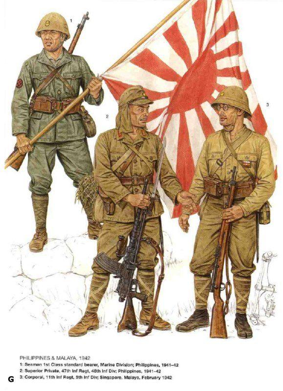 Pin on DUST: IJA Japanese Ww2 Military Uniform