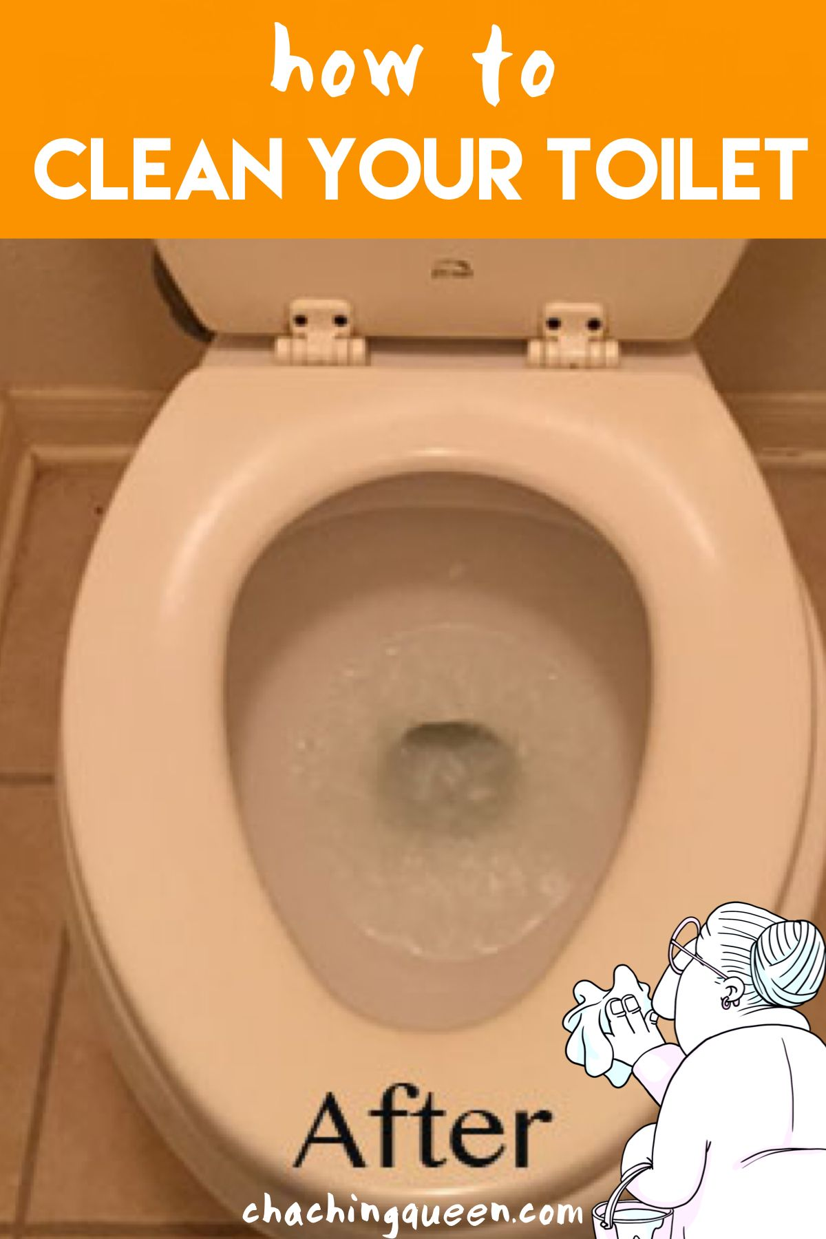 How To Clean A Toilet And How To Remove Hard Water Stains Toilet