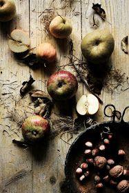 Pratos e Travessas: The first apples for a tarte
