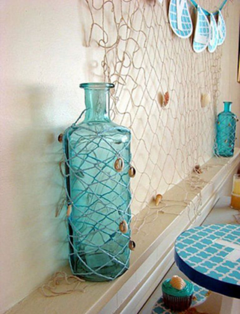 15 Awesome Bathroom Decorating Ideas With Diy Mermaid Decor Beach Bathroom Decor Sea Bathroom Beach Theme Bathroom