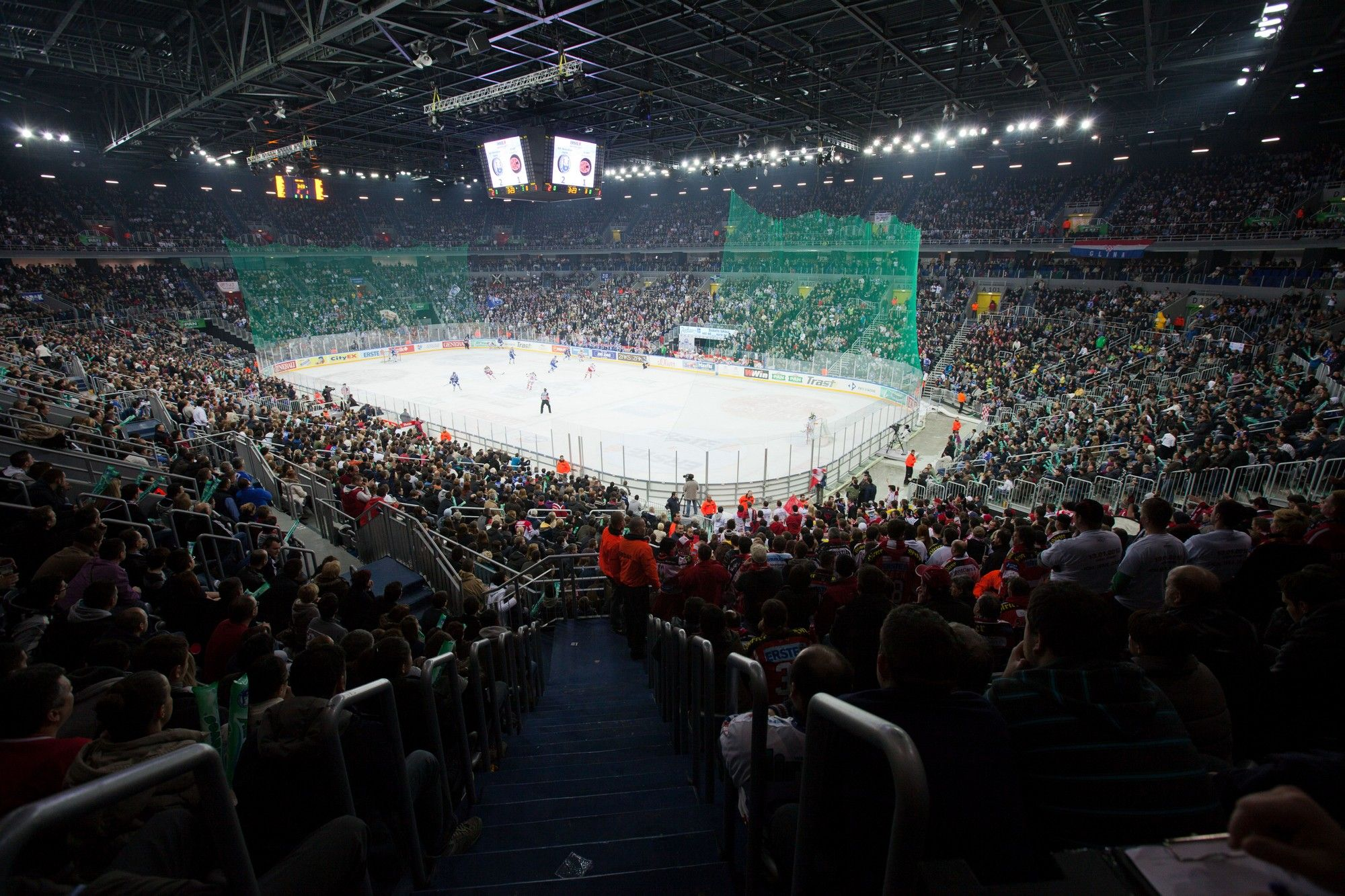 Arena Zagreb Our Weekend Crib Looks Cool Right Zagreb Arena Hockey Rink