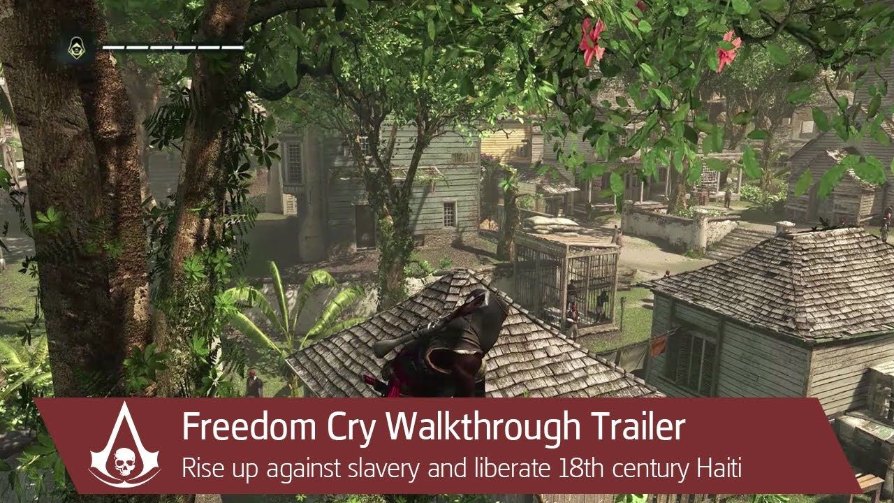 Assassin S Creed Freedom Cry Gameplay Walkthrough Trailer Assassins Creed Assassins Creed Series Creed