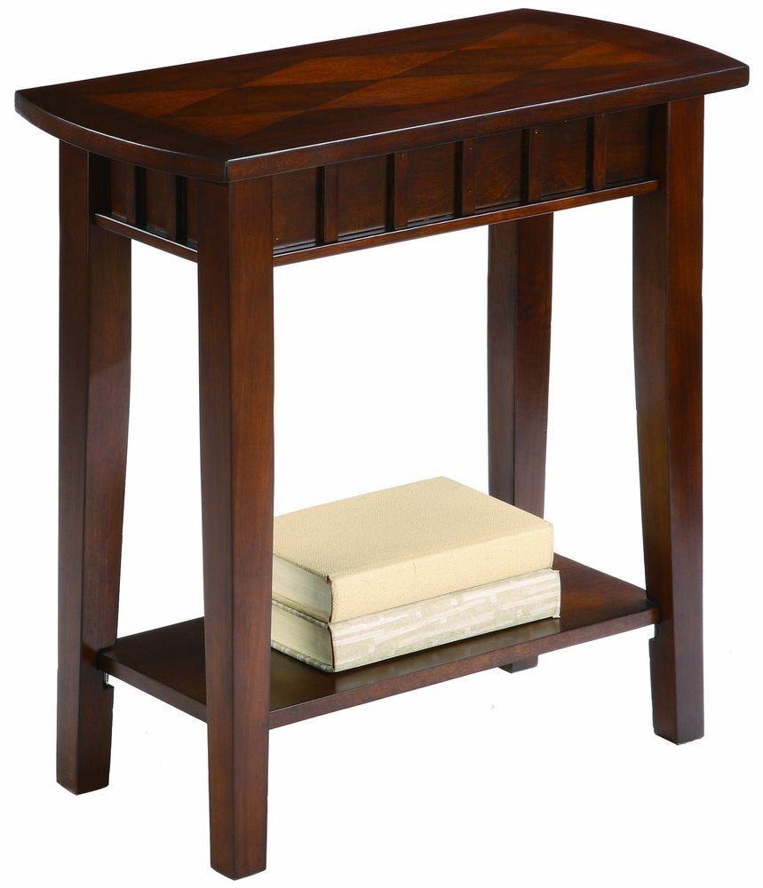 Small Side Table Hall Decoration Shelf Espresso Home Design Coffee ...