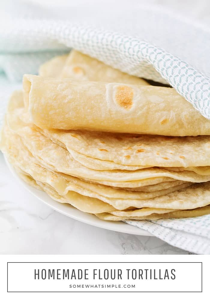 Best Homemade Flour Tortillas Recipe #easymexicanfoodrecipes
