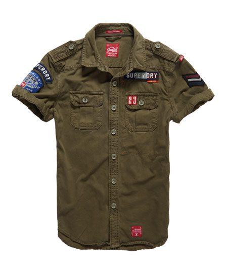 0a96e72e Superdry Alpha Shirt   Socks in 2019   Shirts, Casual shirts, Cargo ...