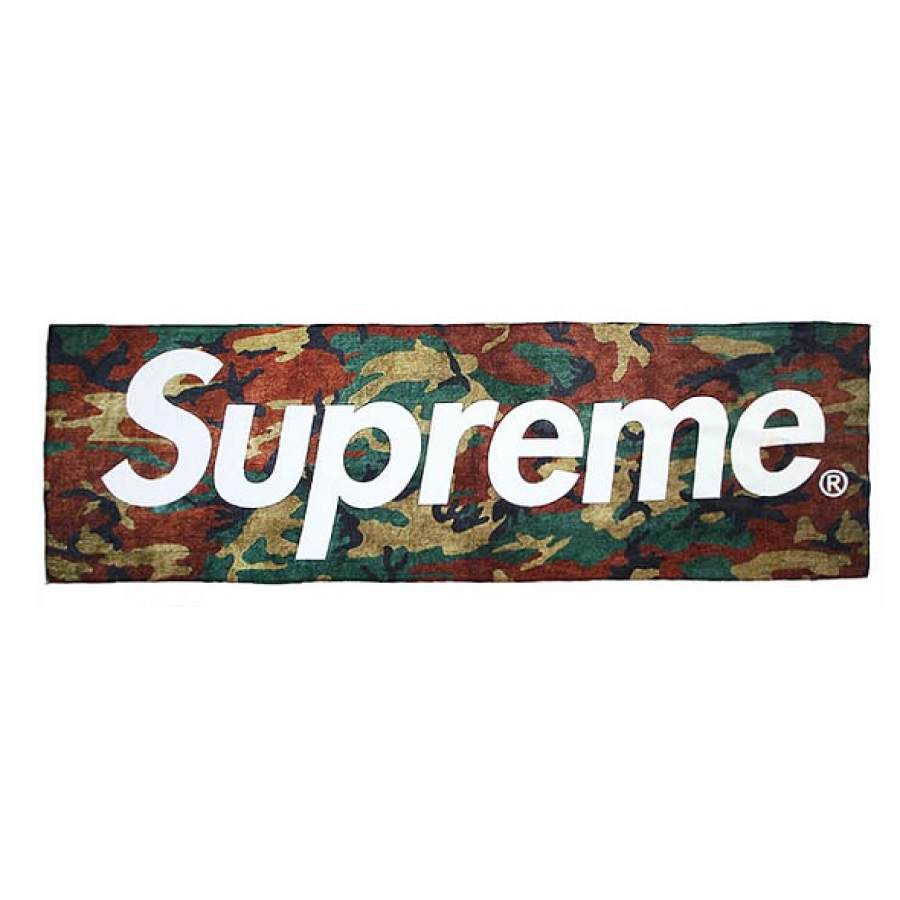 "Blend in with Camo Supreme! Supreme ""Logo Camo"" Beach ..."