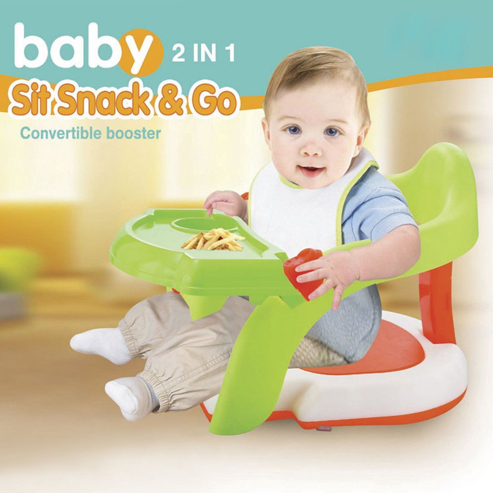 2-in-1 Baby Bath Chair Tub Toddler Training Dinning Chair&Green ...