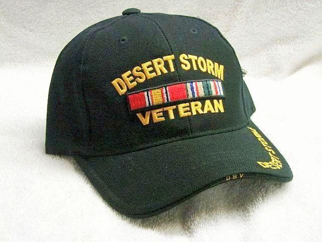 de38cd9091f Vintage Desert Storm Veteran Low Profile Black Ball Cap Never Worn. Find  this Pin and more on Products by Old Salt Sailor Apparel.
