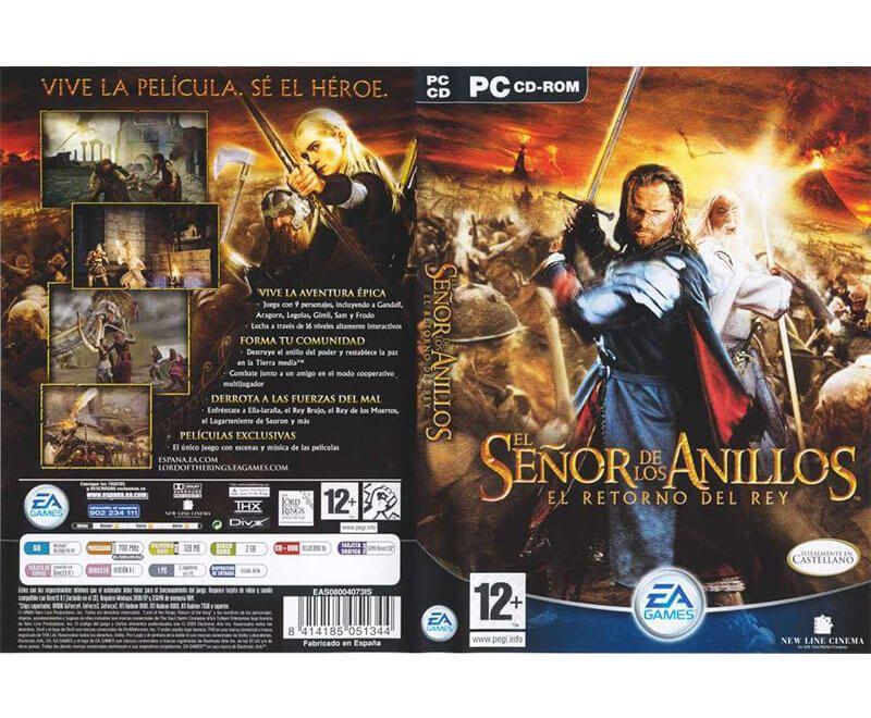 El Señor De Los Anillos El Retorno Del Rey Español Mega Game Pc Rip El Señor De Los Anillos El Retorno Del Rey Señor