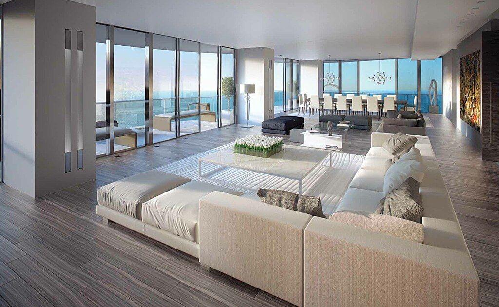 Soggiorni moderni • 100 idee e stile per il soggiorno ideale | Beige ...