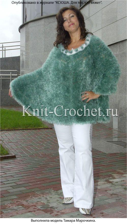 вязаные платья туники длинные свитера и пуловеры вяжем из травки
