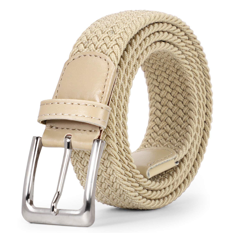 Braided Elastic Belt for Men Wom #braidsformen