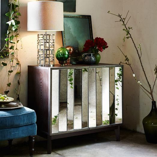 Love This Mirrored Buffet From West Elm With Images Dining