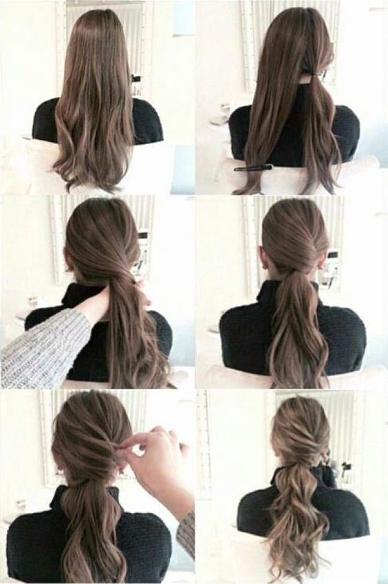 20 Simple Diy Tutorials On How To Style Your Hair In 3 Minutes Bafbouf Hair Styles Pinterest Hair Long Hair Styles