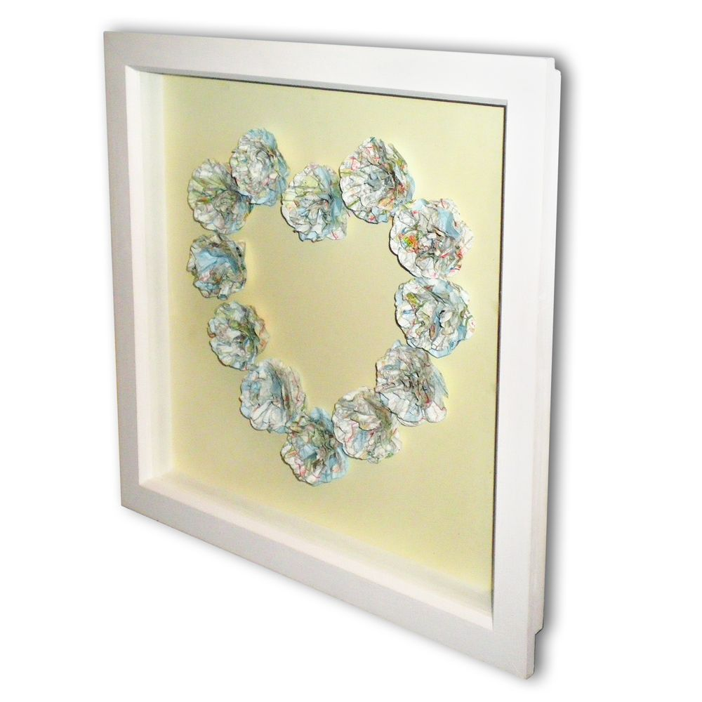 Pretty Heart Wall Decoration. #decoration | For the Home | Pinterest ...