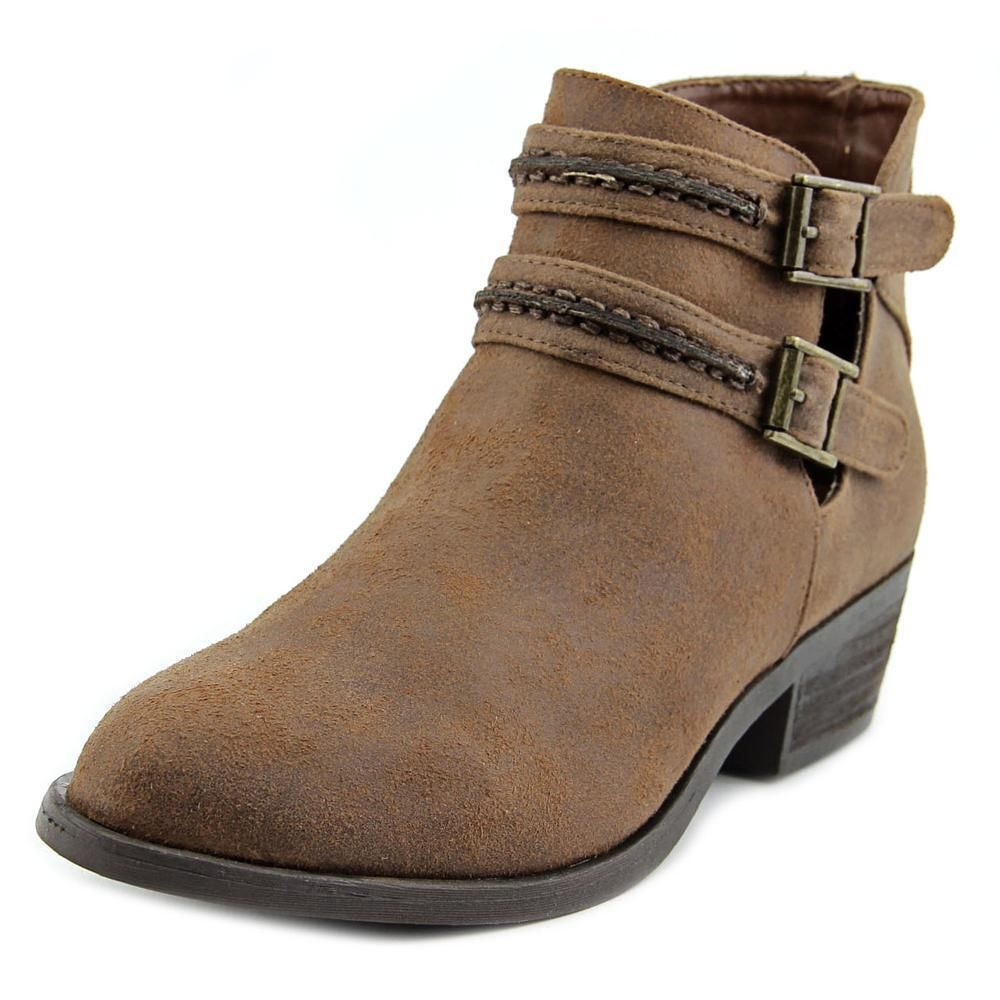 Carlos by Carlos Santana Laney Bootie(Women's) -Dark Brown Synthetic Leather For Cheap Sale Online 8q6cckju