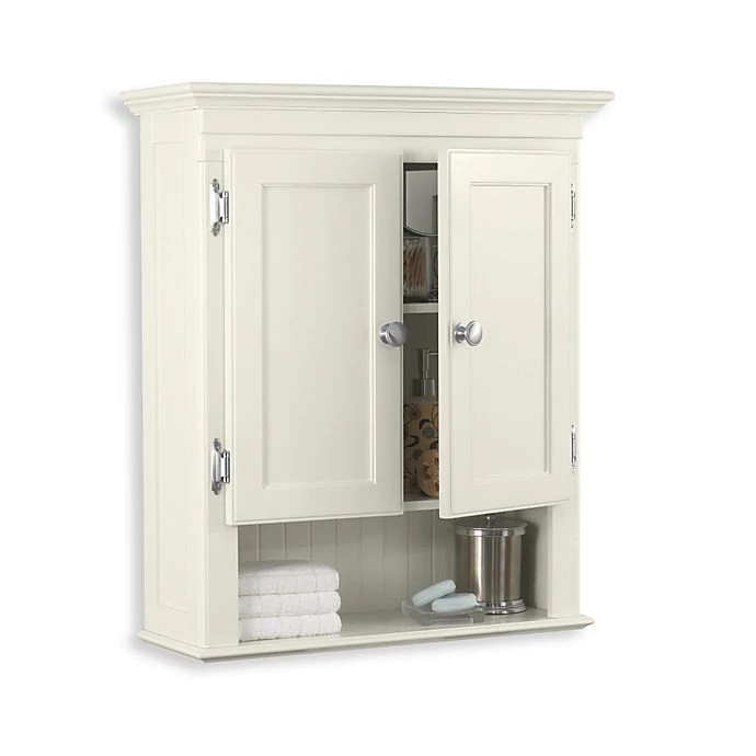 Fairmont Wall Mounted Cabinet In White Bed Bath Beyond In 2020 Bathroom Floor Storage Cabinet Wall Cabinet Bathroom Wall Cabinets
