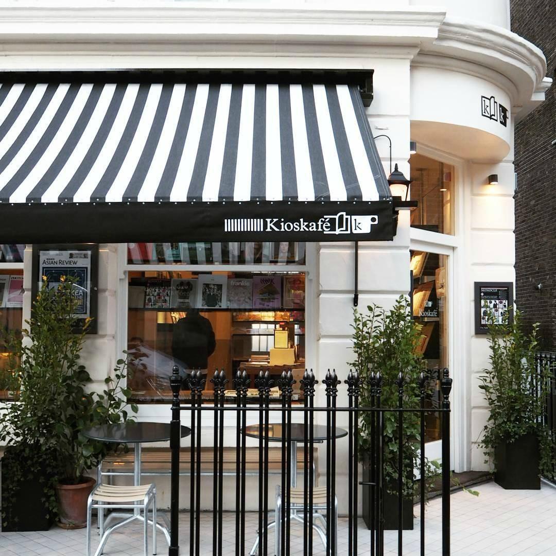 The Monocle Kioskafe, Paddington, London | Storefront ...