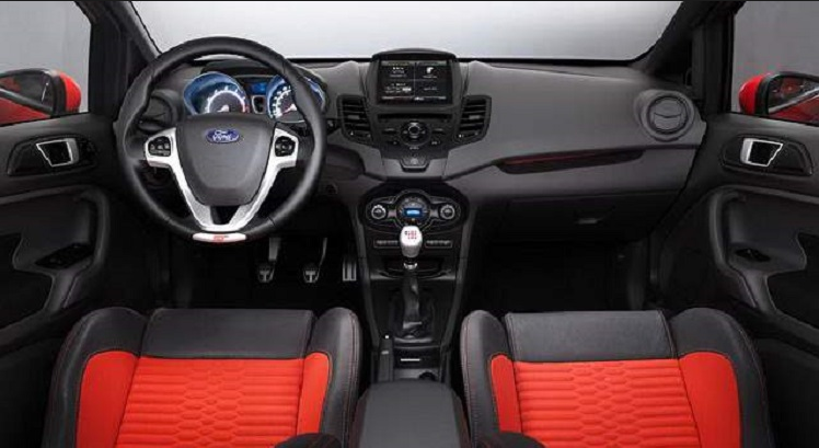 New 2018 Ford Fiesta St Interior