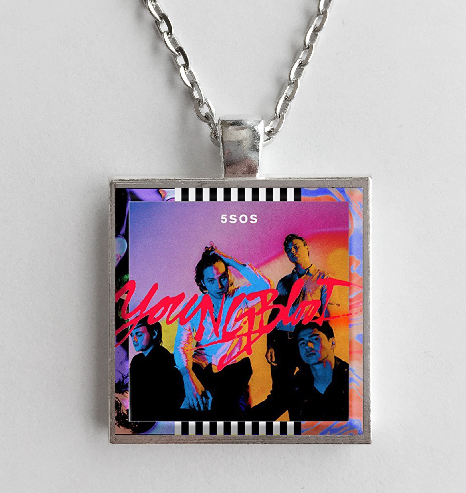 5 Seconds Of Summer Youngblood Album Cover Art Pendant