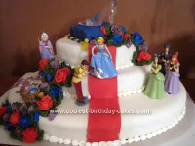 Coolest Cinderella Cake Design Cake designs Cake and Homemade
