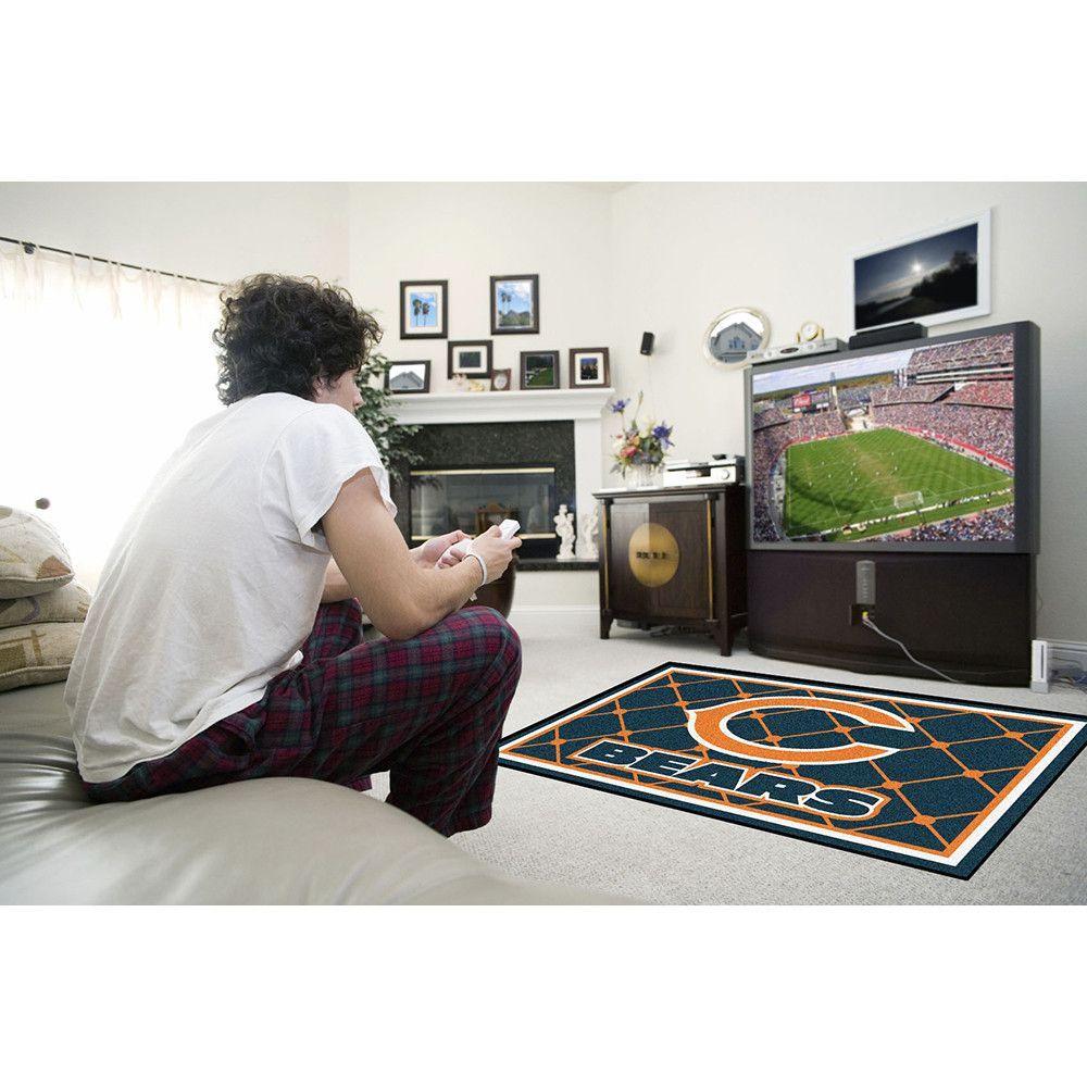Chicago Bears NFL Floor Rug (4'x6')
