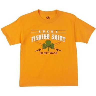 Amazon.com: Ink Inc This is My Lucky Fishing T−Shirt: Clothing