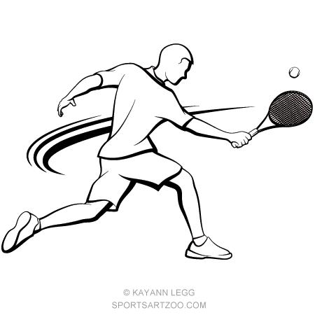 Male Tennis Player Volley Sportsartzoo Tennis Players Tennis Tennis Videos