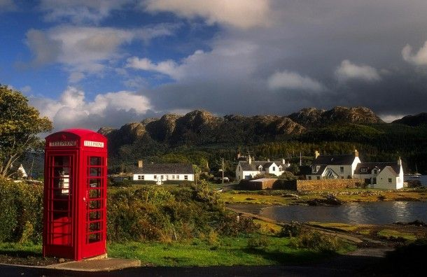Plockton Village, Scotland