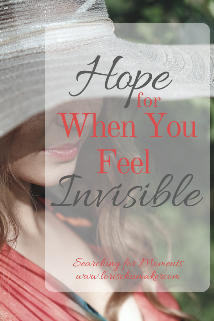 Hope for When You Feel Invisible | How are you feeling ...