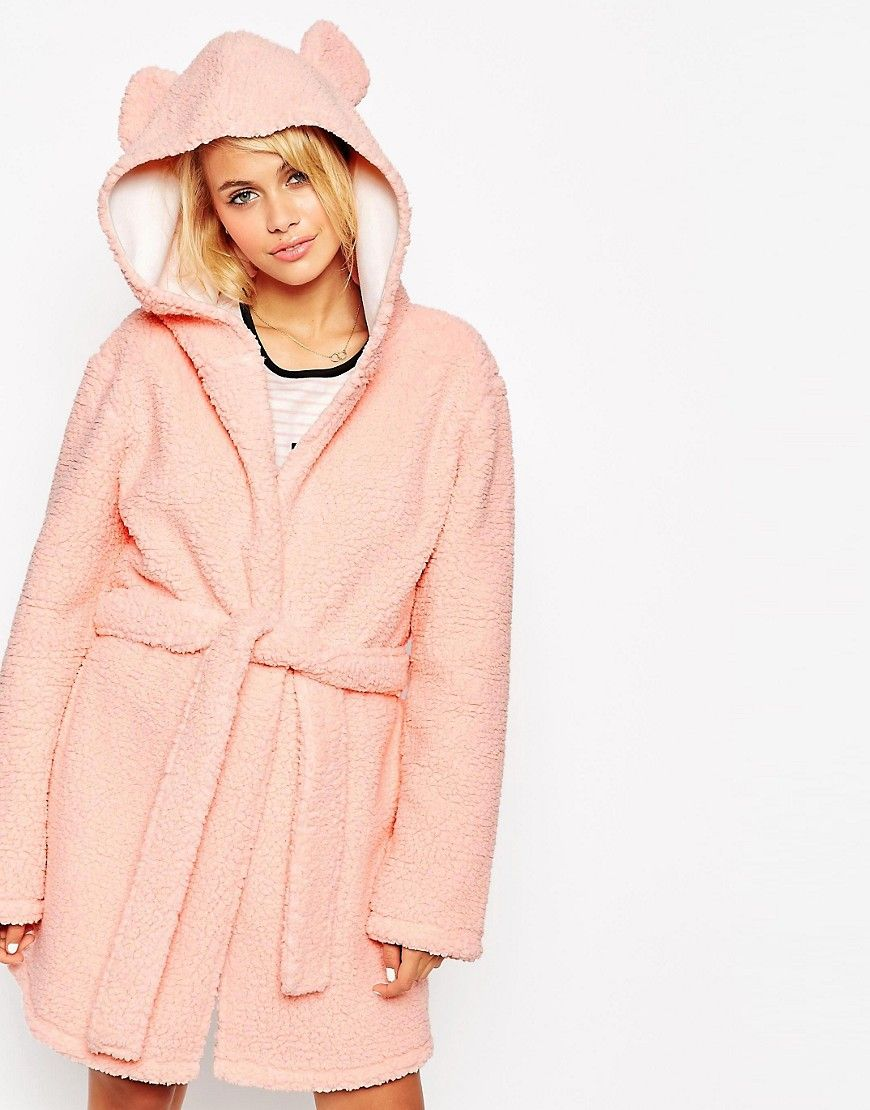 ASOS Fluffy Robe with Ears