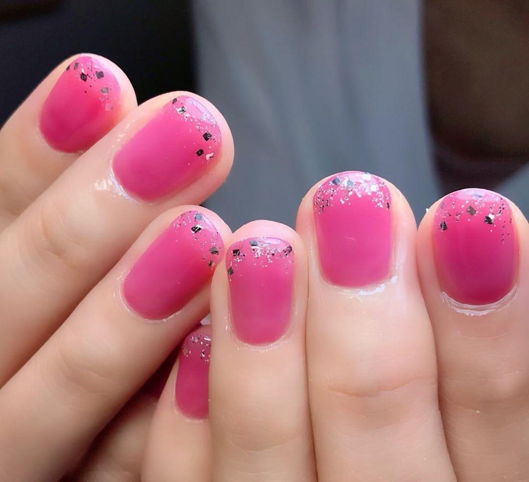 マオジェル302.202を混ぜたカラー  #nails#nail#nailart#gelnail#nagoya#…