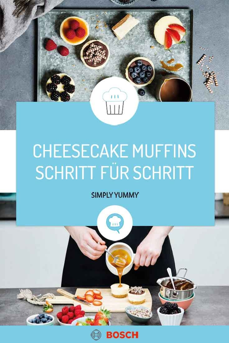 Cheesecake-Muffins wie das NY-Original | Simply Yummy