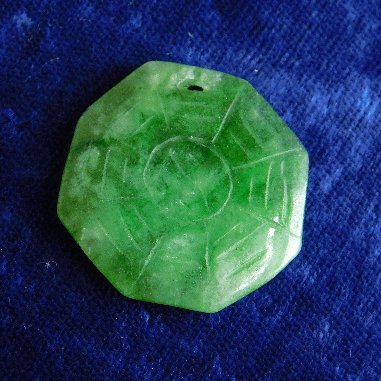 Natural Jade Stone,Unique Handmade Snake Shape Jade Stone