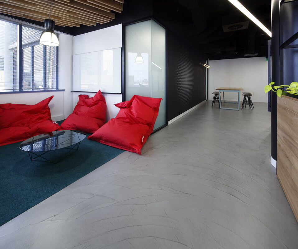 Pandomo Boden Honestone's Pandomo Loft Floor At Uts Insearch, Sydney. #