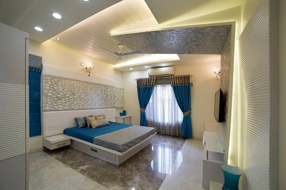 Bedroom Interior In Bungalows Modern Interior Concepts Bedroom Tamilnadu In 2020 Modern Style Bedroom Bungalow Interiors Modern Bedroom Design