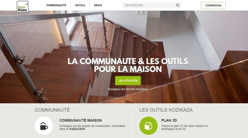 Présentation du logiciel de plans de maison en ligne Kozikaza - Logiciel Pour Maison D